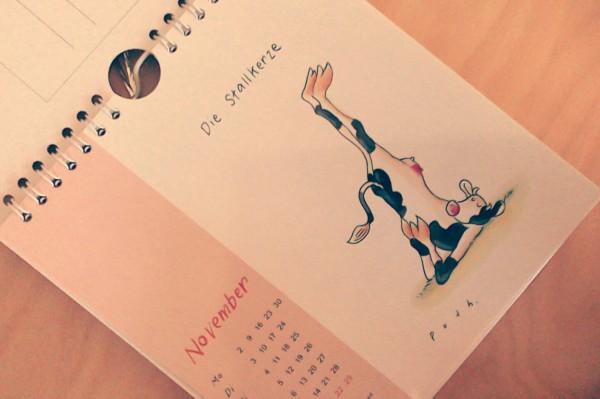 7 Sachen Sonntag DIY Frau Liebe Grinsestern selber machen Yoga Kalender