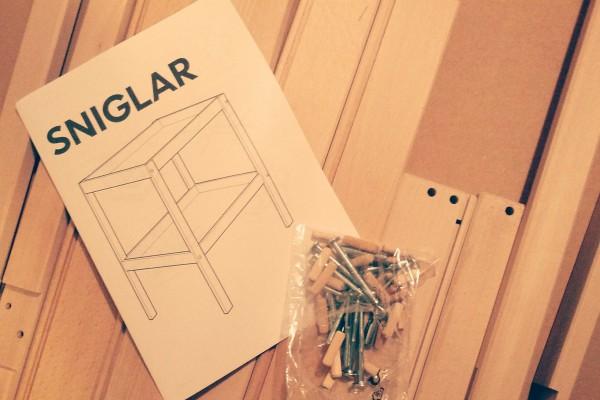 SINGLAR Wickeltisch IKEA